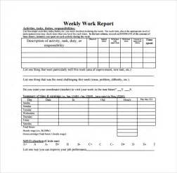template for weekly report weekly report template 11 free documents in pdf