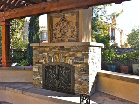 home decor outdoor kitchens and fireplaces san diego living san diego