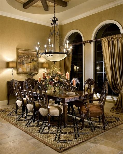 Mediterranean Dining Room residence a windermere florida mediterranean dining room other metro by