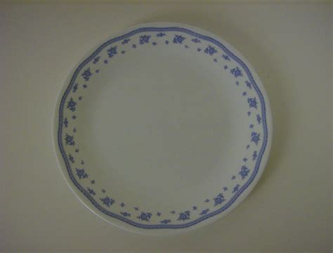 corelle pattern blue floral corelle morning blue dinner plate from marysmenagerie on
