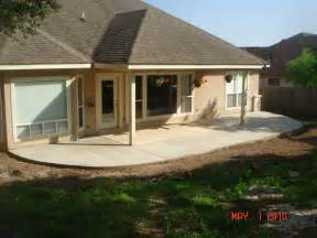 Outdoor Patio Extensions by Concrete Patios Easter Concrete Construction Our Work