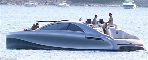 10 person boat mercedes benz arrow 460 granturismo motor yacht spotted in