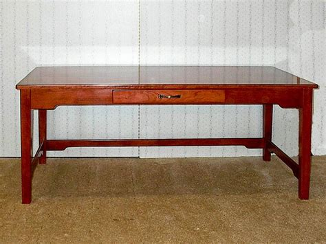 Cherry Sofa Table De Vries Woodcrafters Cherry Sofa Table With Storage