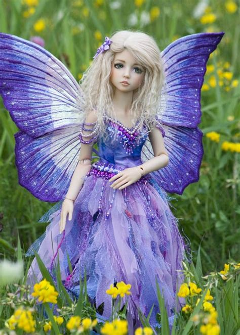 Flower Pin Combined Dress 12482 hada dollfy 193 ngeles sirenas hadas unicornios genios
