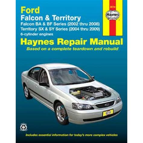 old car manuals online 2002 ford e series parking system haynes manual ford falcon territory 2002 2014 36734