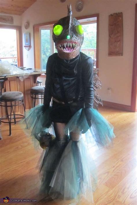 diy angler fish costume
