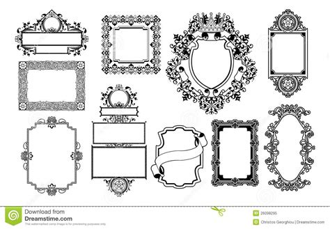 design graphic frame graphic design decorative frames stock vector image