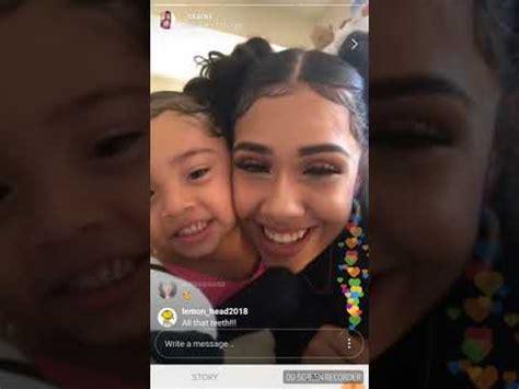 6ix9ine daughter 6ix9ine s baby mama her daughter saraiyah having fun at