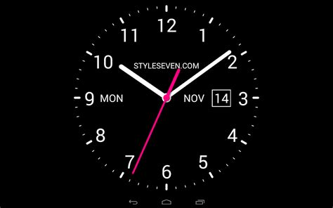 massive clock themes wallpaper analog clock live wallpaper 7 android apps on google play