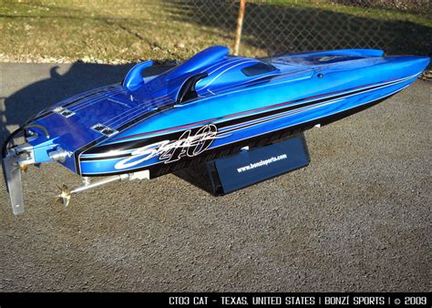 traxxas gas powered boats de anodizing before and after