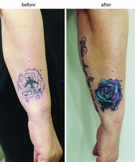 watercolor tattoo cover ups 11 cover color electric