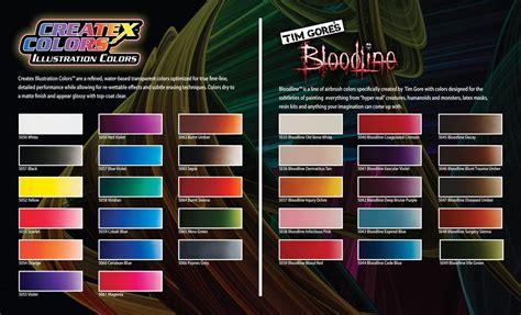 createx airbrush colors createx illustration colors airbrush paint direct