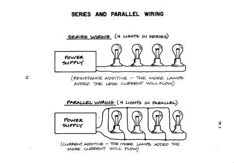 electric circuits series  parallel electric sendb