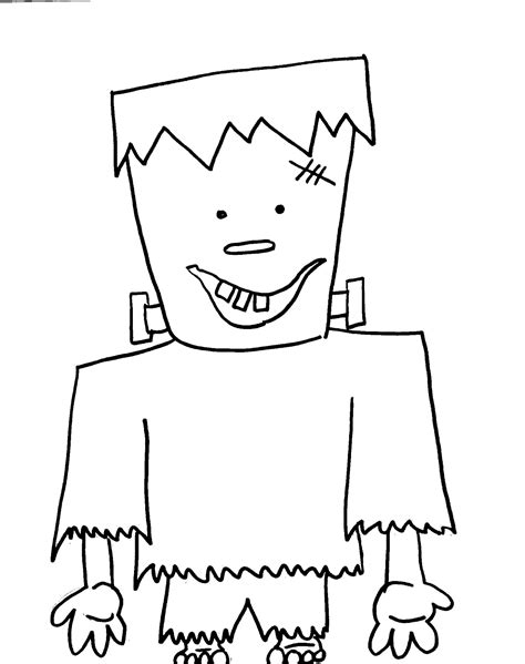 halloween coloring pages simple halloween coloring pages