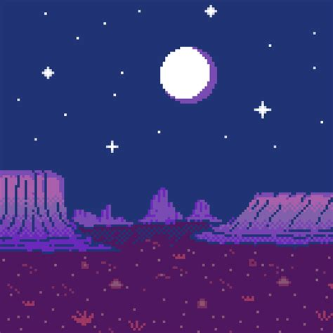 gn goodnight canyon pixels pixelated