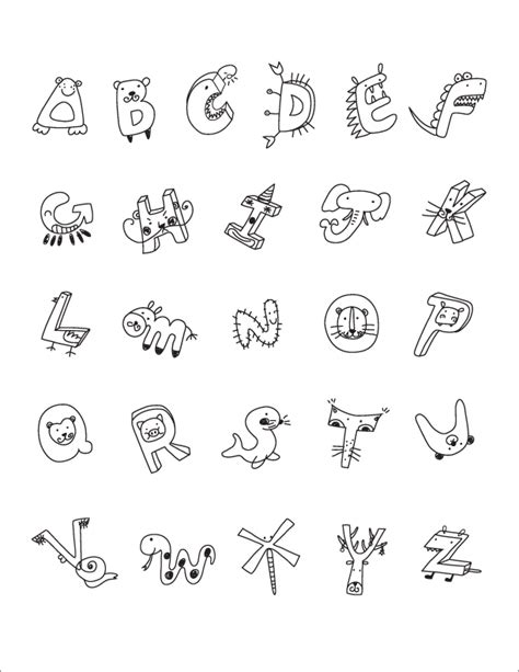 printable letters with animals animal alphabet colouring pictures gallery for gt animal