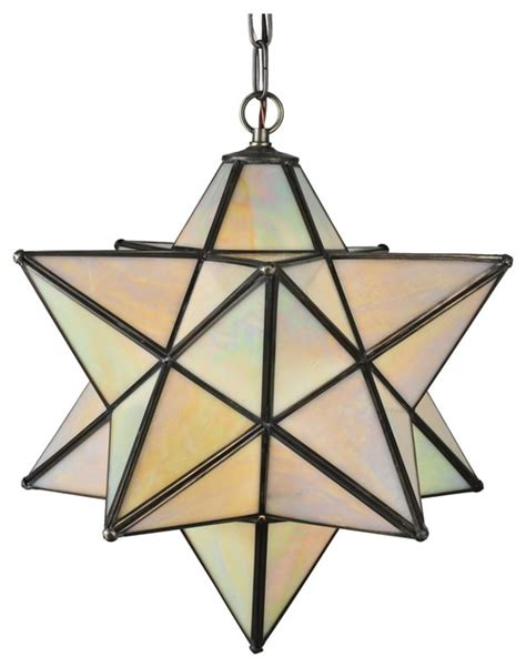 meyda tiffany moravian star outdoor pendant light