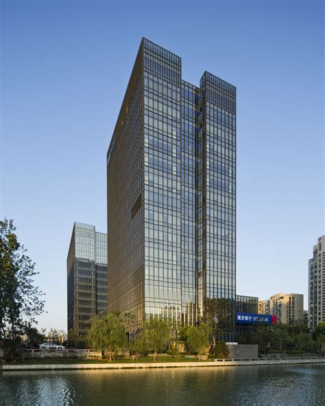 architects and designers building shanghai pudong development bank suzhou branch e architect