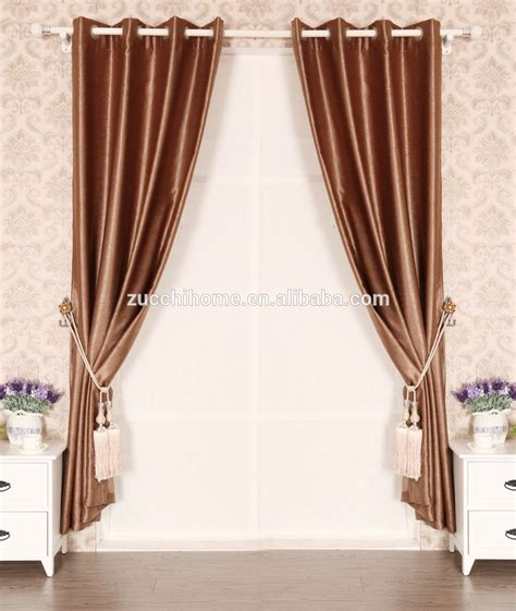 light proof curtains 100 polyester fabric dyed embossed cheap blackout curtain