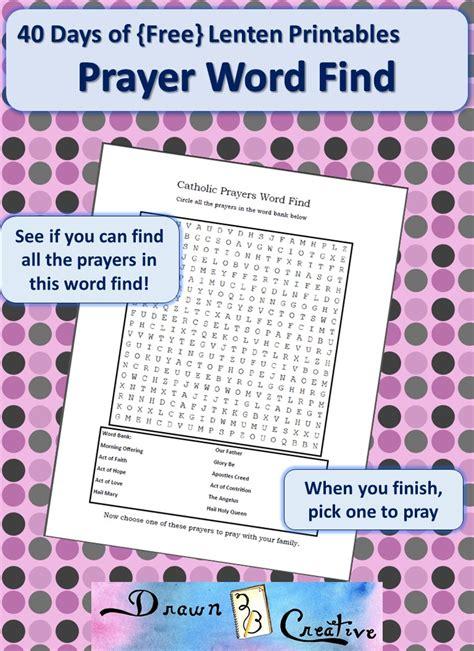 comes unbidden 40 meditations for lent books 40 days of free lenten printables prayer word find