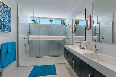 Mid Century Modern Bathroom Decor Desert South Midcentury Bathroom Los Angeles