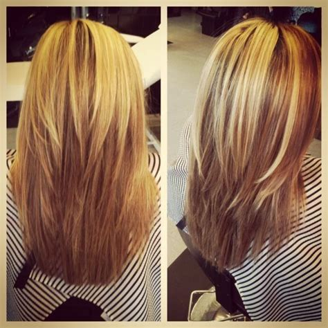 pic of front back shoulder lenght straigbt hairstyle 25 exciting medium length layered haircuts 11