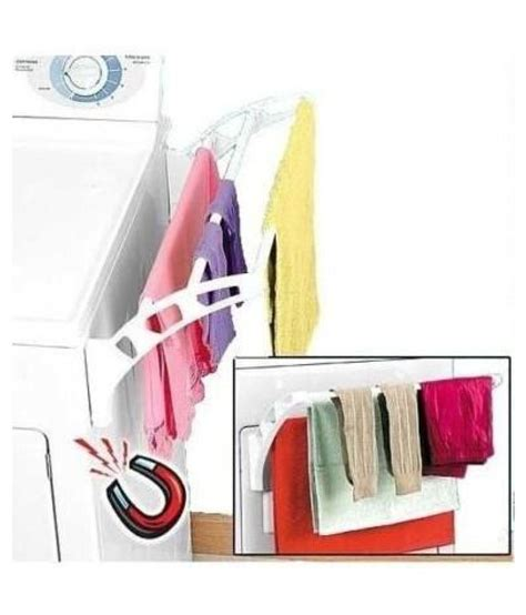 magnetic attachable laundry drying rack small cloths