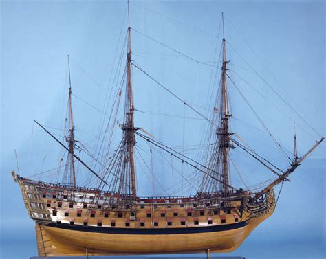 Free Blueprints file victory 1737 model in the national maritime museum