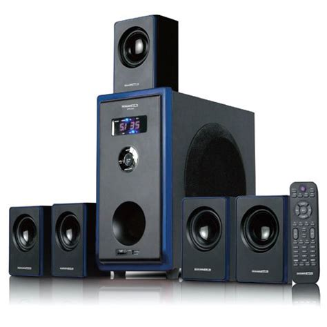 acoustic audio aa5102 800w 5 1 channel home theater