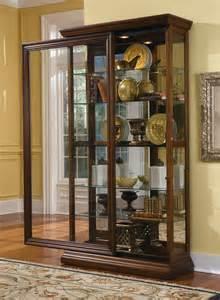 What To Put In Curio Cabinet Pulaski Curio Cabinet 21015 Two Way Sldg Door Curio
