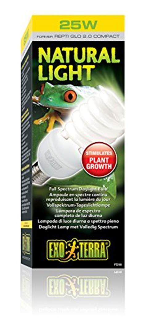 Exo Terra Repti Glo 2 0 Compact Fluorescent Full Spectrum