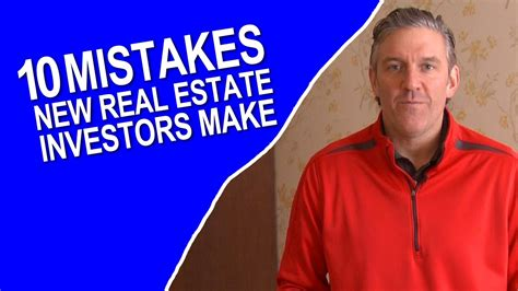 Financing 10 Mistakes That Most Make by 10 Mistakes New Real Estate Investors Make