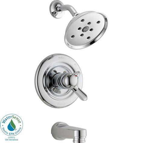 bathtub trim kits delta shower valves delta compel 1handle h2okinetic tub