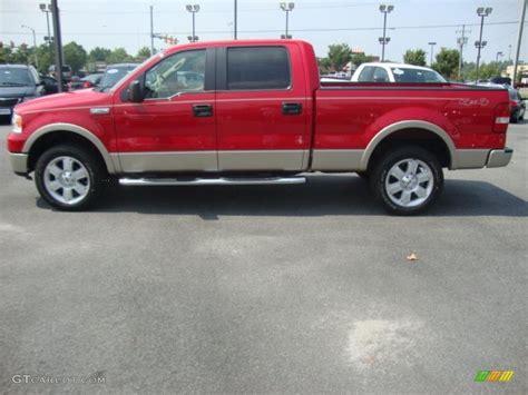 2008 bright ford f150 lariat supercrew 4x4 33081276