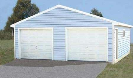 2 Door Garage by Sutherlands Cimarron Garage Packages