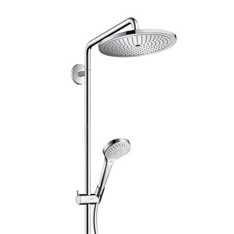 Hansgrohe Selecta Shower by Hansgrohe Croma Select 280 Air 1jet Showerpipe 26790000 Megabad