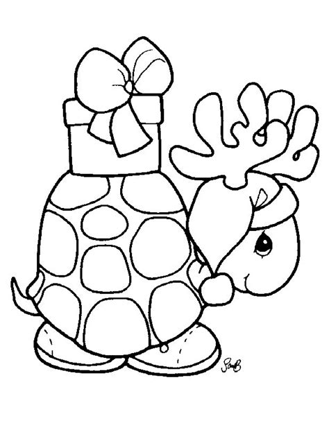 Cute Christmas Animals Coloring Pages | cute baby animal coloring pages 18 image colorings net
