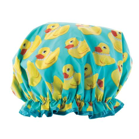 Rubber Shower Cap by Shower Couture Duck Shower Cap Beyond