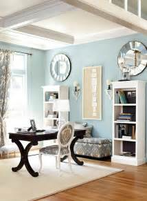 Blue Office light blue home office home office space pinterest