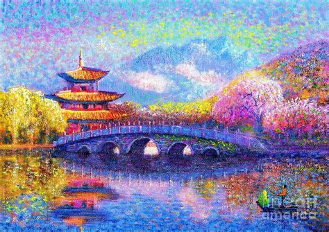 Home Decor Buddha by Bridge Of Dreams Painting By Jane Small