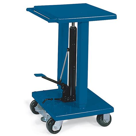 hydraulic lift tables wesco foot pedal operated mobile hydraulic lift tables