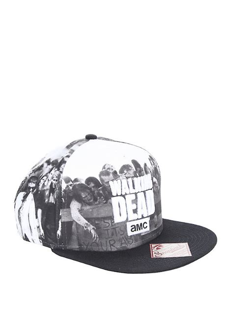Topi Snapback The Walking Dead 1 the walking dead sublimation snapback hat topic