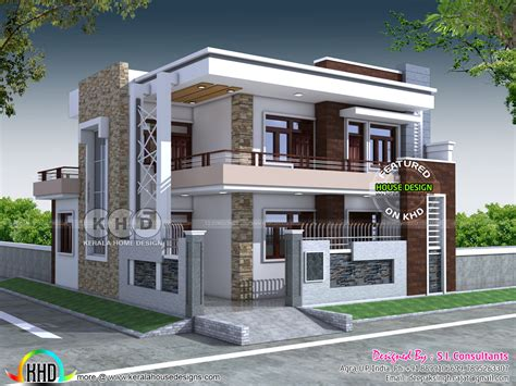 contemporary home plans and designs kerala home design and floor plans