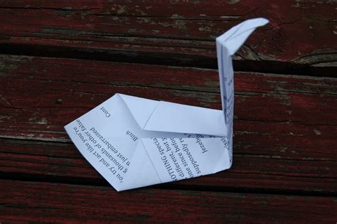 Mail Origami - swords into plowshares and mail into origami