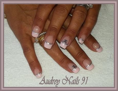 Deco Ongle Et Or by Deco Ongle Blanc Et Argent