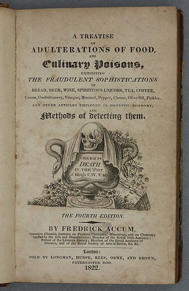 a treatise on adulterations of food and culinary poisons classic reprint books file a treatise on adulterations of food and culinary