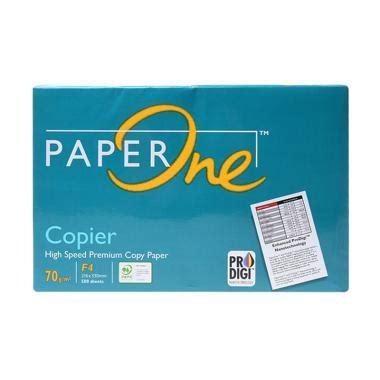 Diskon Kertas Hvs A4 Paper One 80gr 80 Gr Gsm Kertas Copy Print paper one blibli