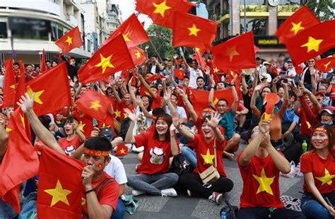 uzbek football fans vietnam 1 2 uzbekistan vietnam comes second at asian u23