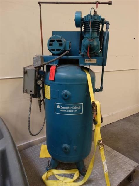 used compair kellogg b335ub air compressor