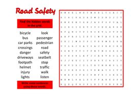 printable road for display road safety teaching resources role play child minder
